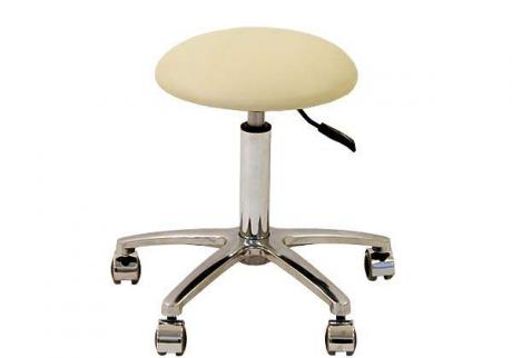 Круглый стул без спинки диаметром 32см.